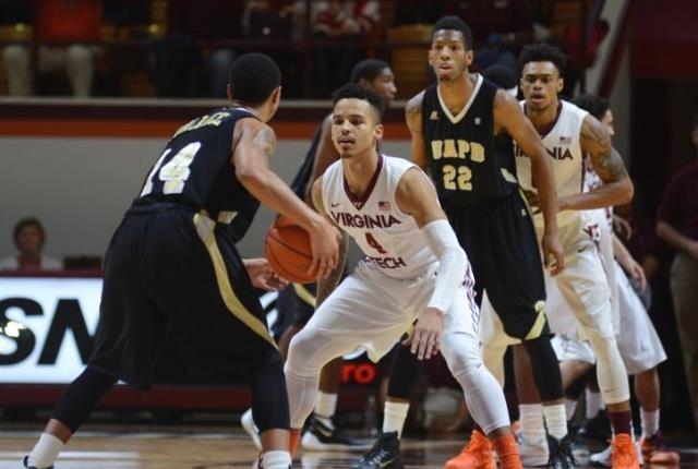 Arkansas-Pine Bluff falls to Virginia Tech