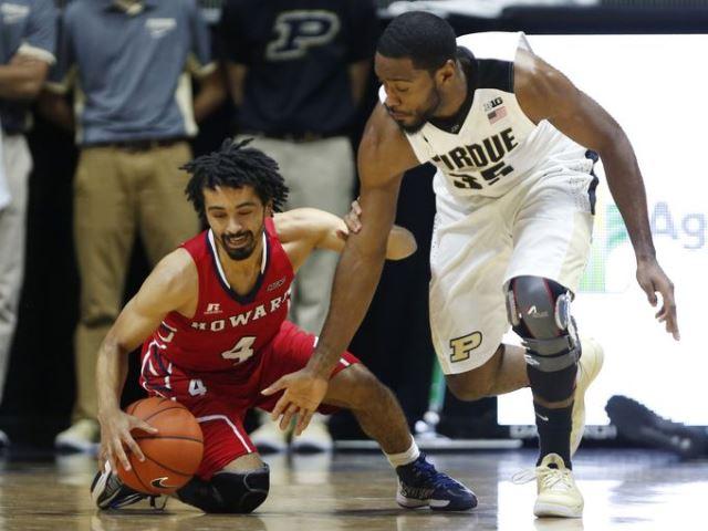Howard falls to Purdue