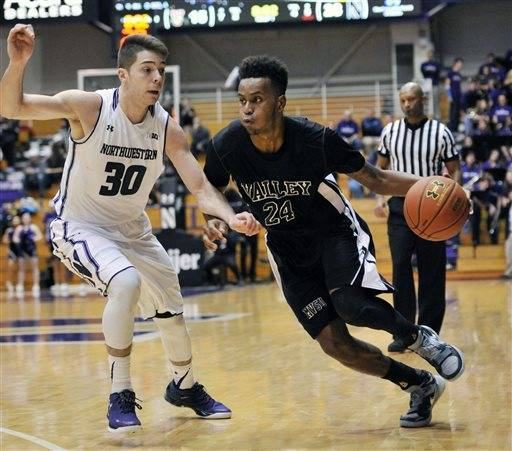 Northwestern routs Mississippi Valley State