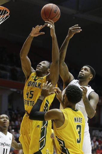 Cincinnati holds off Norfolk State