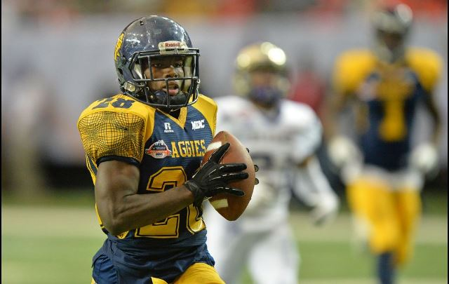 Alcorn State and North Carolina A&T play in the C...