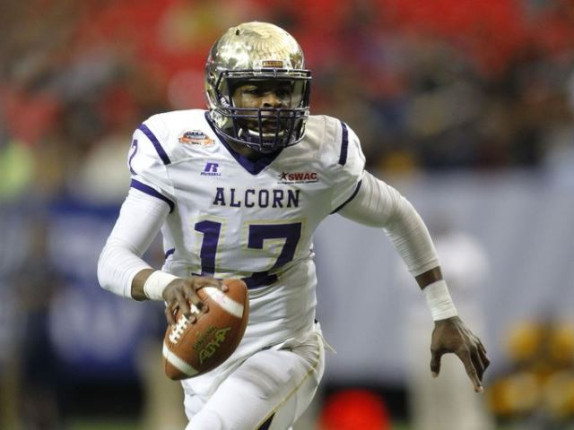 Alcorn State Braves take on North Carolina A&T Ag...