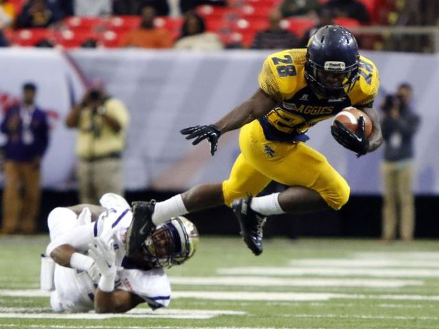 North Carolina A&T and Alcorn State battle in Cel...