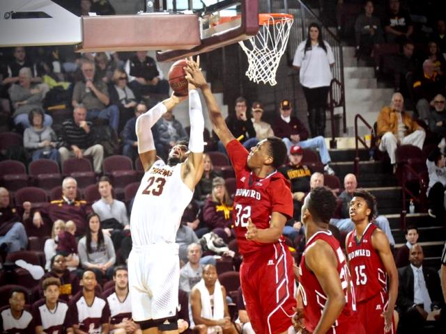 Central Michigan hold off Howard