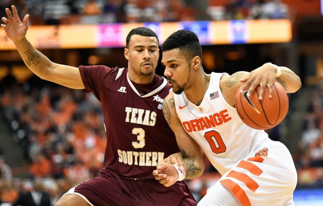 Texas Southern fall to Syracuse on the road