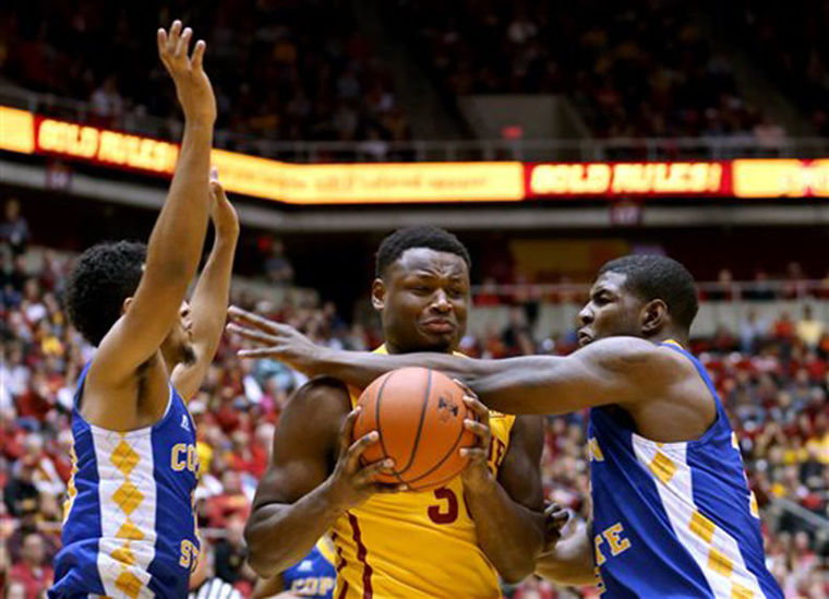 Coppin State falls to Iowa State