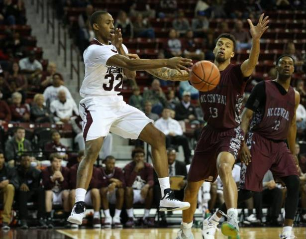 Mississippi State cruises by North Carolina Centr...