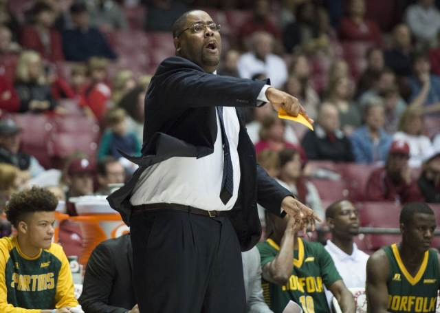 Norfolk State head basketball coach calls out to ...