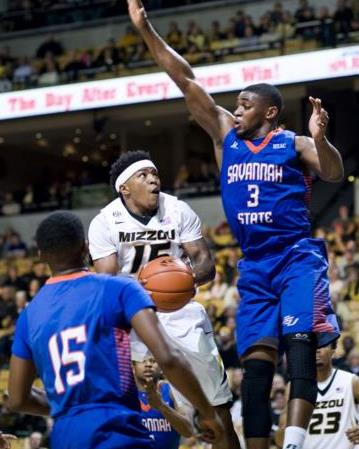 Missouri shuts down Savannah State