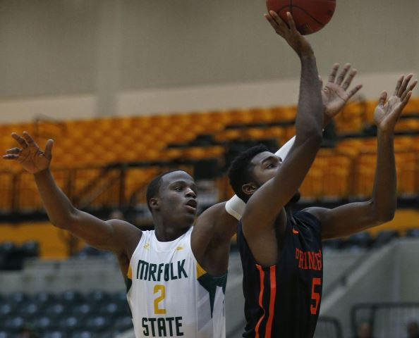 Princeton gets by Norfolk State