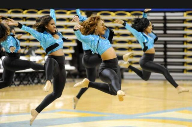 "Southern's Gold 'N"" dance team per..."