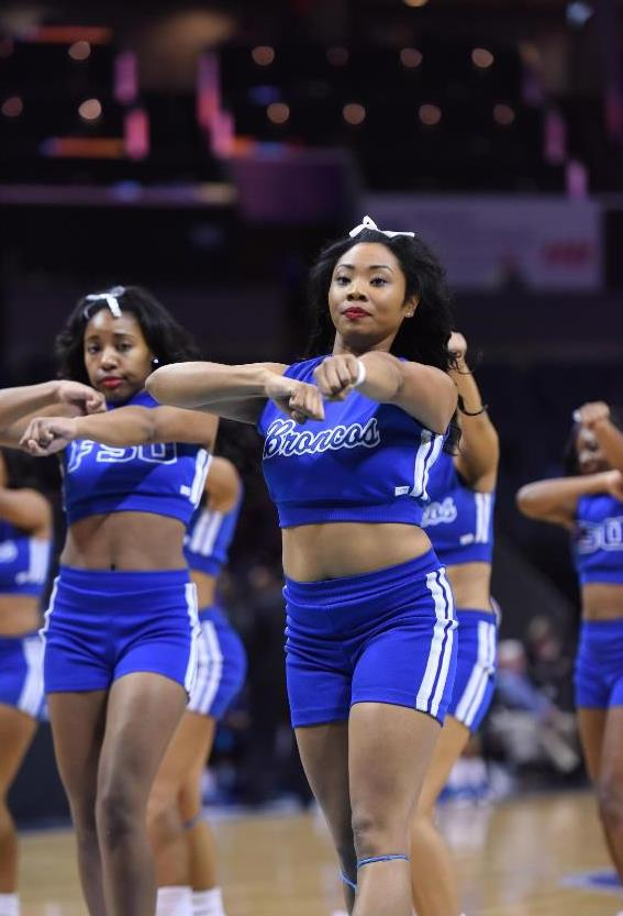Fayetteville State Broncos cheerleaders
