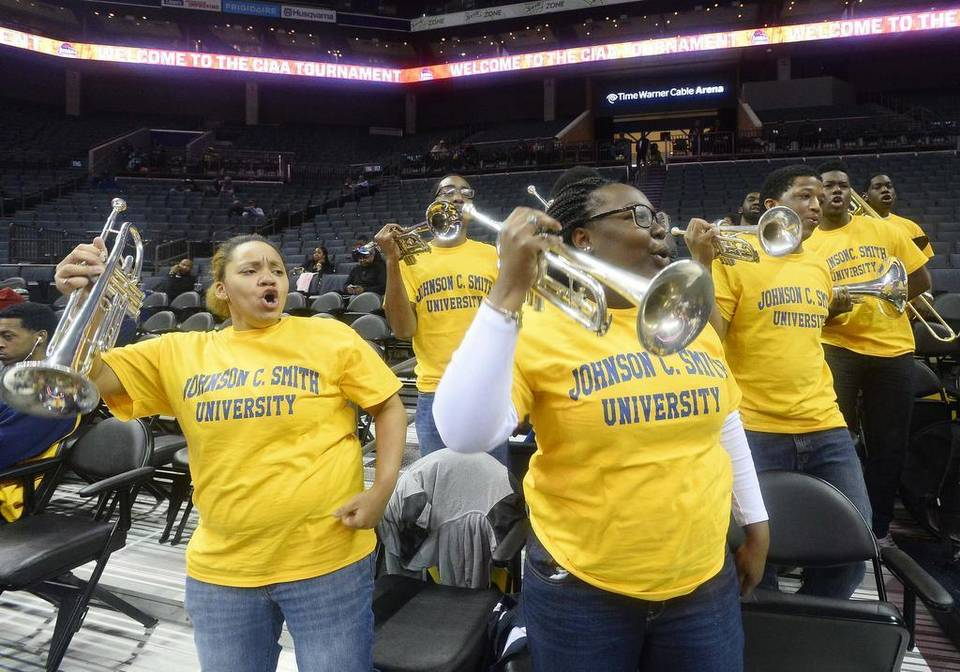 Johnson C. Smith pep band