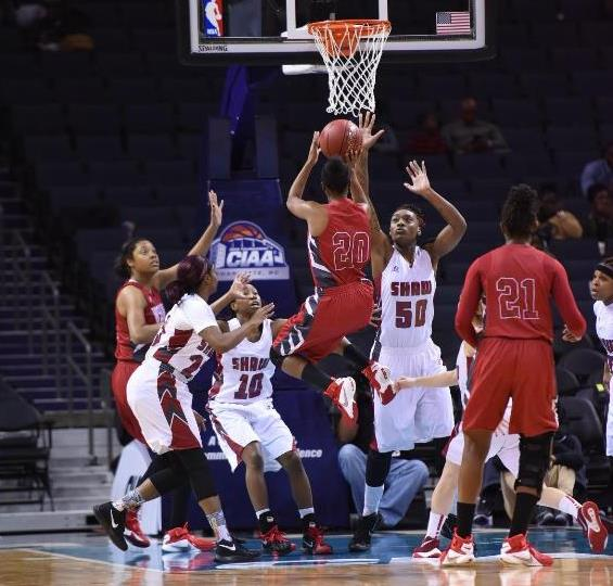 Shaw Lady Bears drop Winston-Salem State Lady Ram...