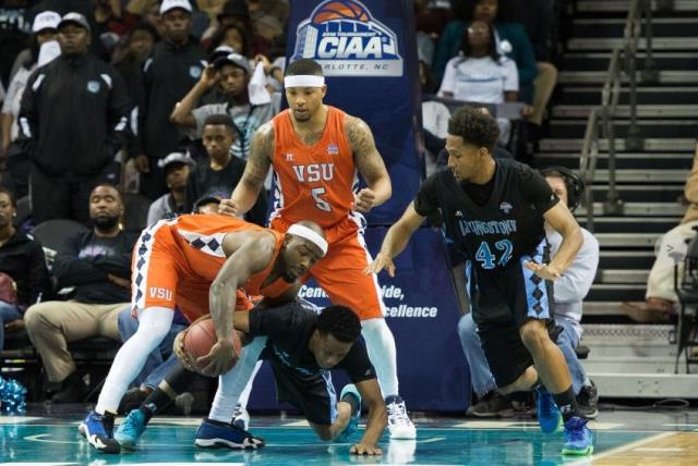 Virginia State Trojans take down Livingstone Blue...