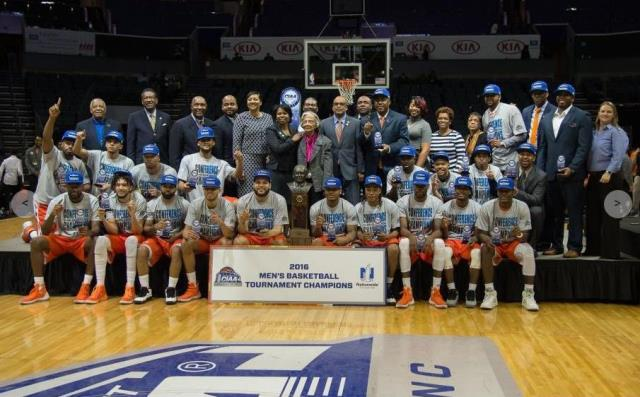 Virginia State University are the 2016 CIAA Champ...