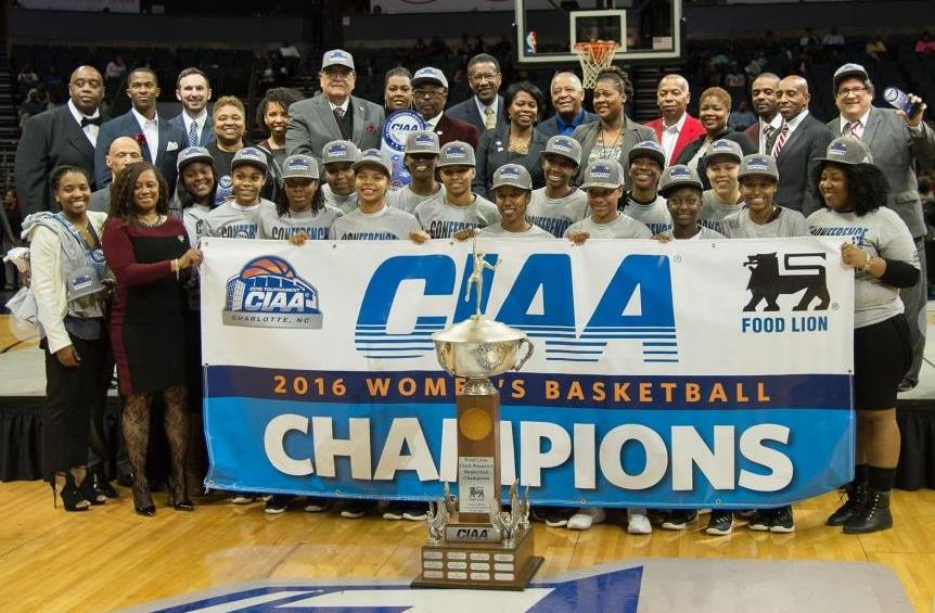 Virginia Union Lady Panthers capture the 2016 CIA...