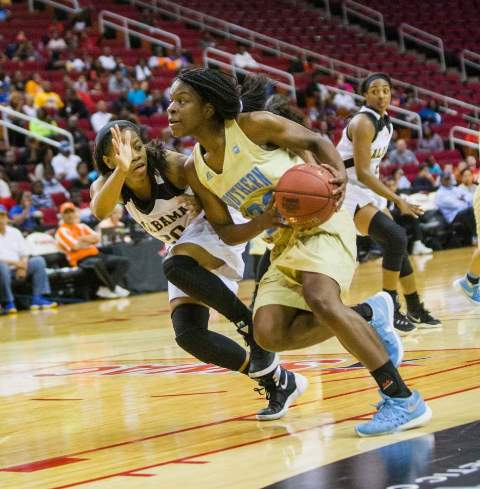 Southern Lady Jaguars and Alabama Lady Hornets at...