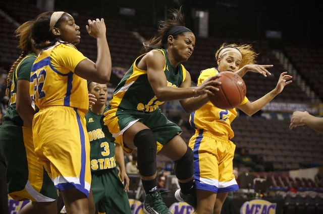Norfolk State Lady Spartans take on Coppin State ...