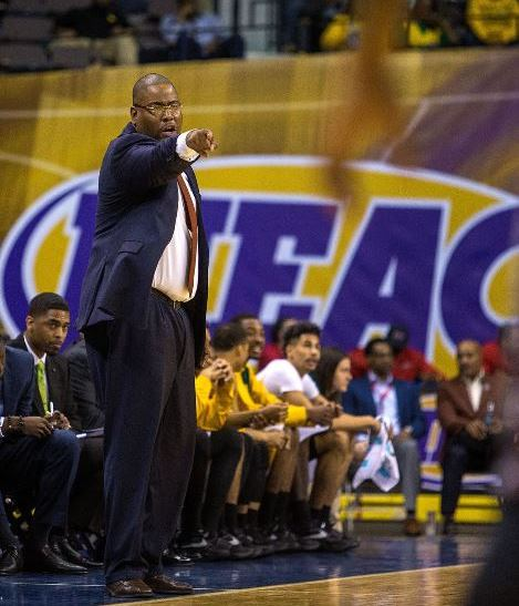 Norfolk State head basketball coach Robert Jones ...