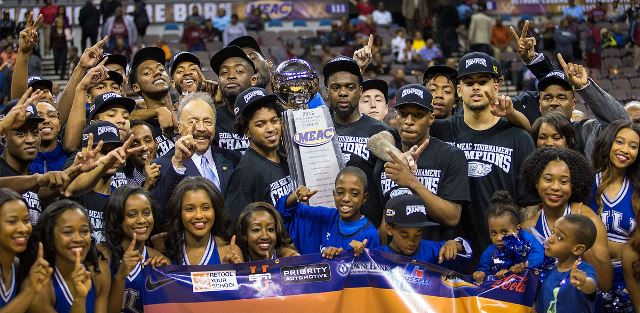 Hampton University captures the 2016 MEAC Basketb...