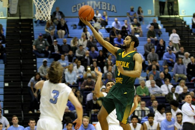 Norfolk State falls to Columbia in first round of...