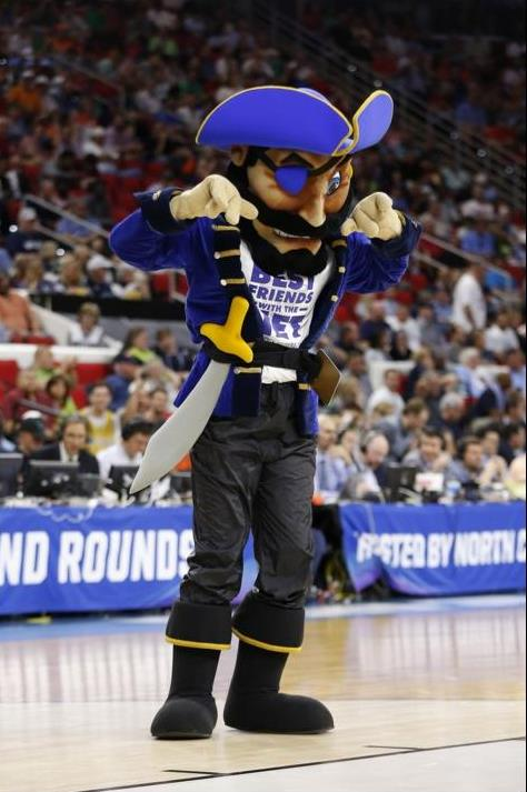 Hampton University Pirates mascot