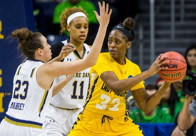 North Carolina A&T Lady Aggies eliminated by Notr...