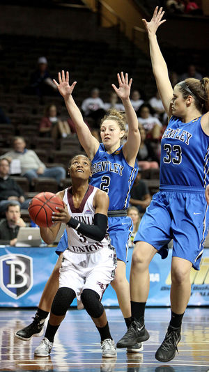 Bentley holds off Virginia Union Lady Panthers